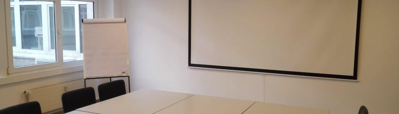 Unser Tagungsraum kann von Ihnen gebucht werden; Büro mieten; Virtual Office