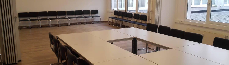 Unser Konferenzraum für Ihre Veranstaltungen; Büro mieten; Virtual Office