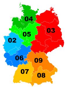 Telefonvorwahlbereiche-Deutschland; Büro mieten; Virtual Office
